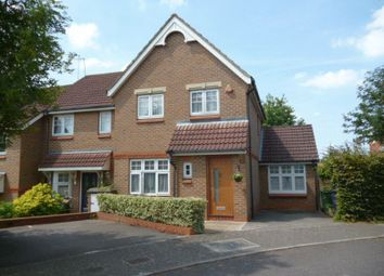 Thumbnail 3 bed semi-detached house for sale in Campion Way, Edgware