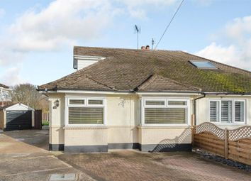 Thumbnail 3 bed bungalow for sale in Catherine Close, Pilgrims Hatch, Brentwood