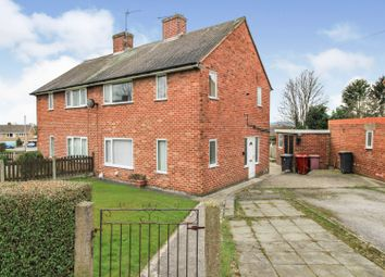 Ayncourt Road, North Wingfield, Chesterfield S42. 2 bed semi-detached house for sale