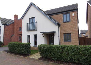 Thumbnail 4 bed detached house for sale in Saffron Drive, Hampton Vale, Peterborough
