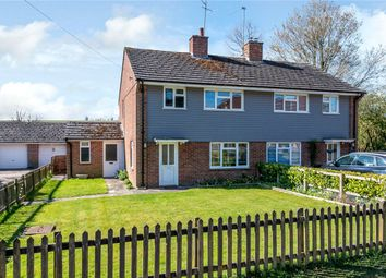 Thumbnail 3 bed semi-detached house for sale in Main Street, West Ilsley, Newbury