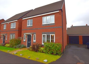Thumbnail 3 bed detached house for sale in Sandpit Drive, Birstall, Leicester