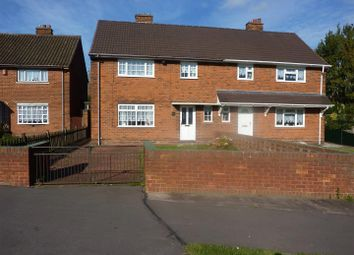 Thumbnail 3 bed semi-detached house to rent in Lavender Grove, Walsall