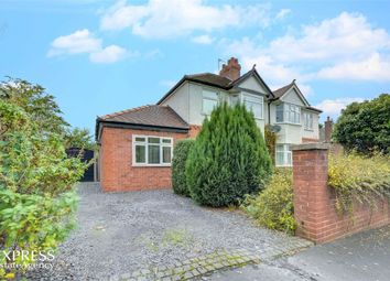Thumbnail 4 bed semi-detached house for sale in Aston Road, Queensferry, Deeside, Flintshire