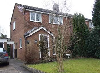 Thumbnail 3 bed semi-detached house to rent in Fallibroome Road, Macclesfield, Cheshire