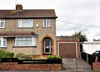 Thumbnail 3 bed semi-detached house for sale in Gages Road, Kingswood