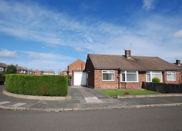 Thumbnail 2 bedroom semi-detached bungalow for sale in Longhirst Drive, Wideopen, Newcastle Upon Tyne