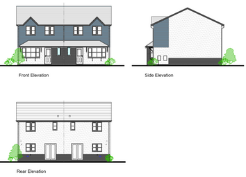 Thumbnail 3 bed semi-detached house for sale in Lon Y Dderwen, Conwy