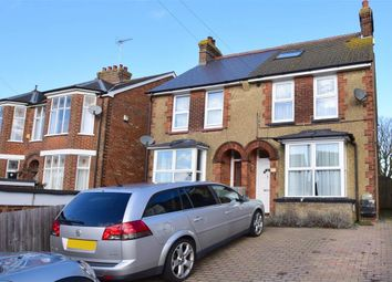 Thumbnail 3 bed semi-detached house for sale in Hythe Road, Willesborough, Ashford, Kent