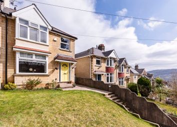 Thumbnail 4 bed semi-detached house for sale in Charlcombe Lane, Larkhall, Bath