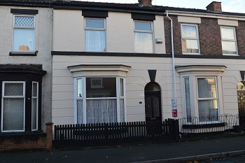 Thumbnail 2 bed terraced house to rent in 6 Brownlow Road, New Ferry, Wirral