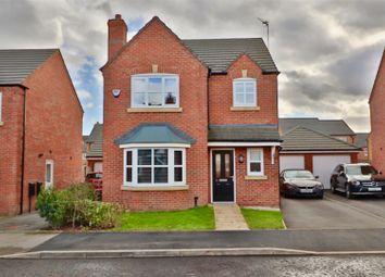 Thumbnail 3 bed detached house for sale in Hamilton Close, Warrington
