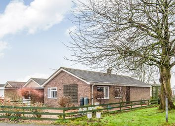 Thumbnail 3 bedroom detached bungalow for sale in Priory Road, Watton, Thetford