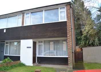 Thumbnail 2 bed end terrace house to rent in Wheatcroft, South Hill Road, Gravesend, Kent