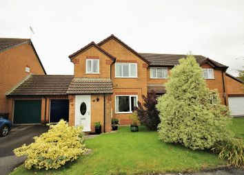 Thumbnail 3 bed semi-detached house for sale in Norrington Way, Chard