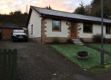 Thumbnail 3 bed semi-detached bungalow for sale in Braeface Park, Alness