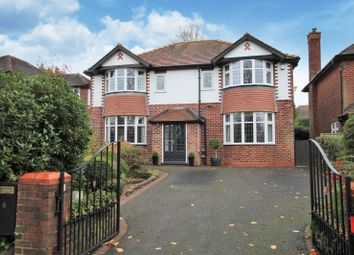 Thumbnail 4 bed detached house for sale in Crossfield Road, Hale, Altrincham
