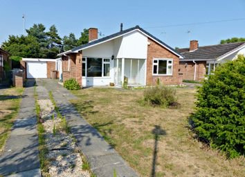 Thumbnail 3 bed bungalow for sale in Esk Close, North Hykeham, Lincoln