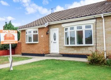 Thumbnail 2 bed semi-detached bungalow for sale in The Derby, Marton-In-Cleveland, Middlesbrough