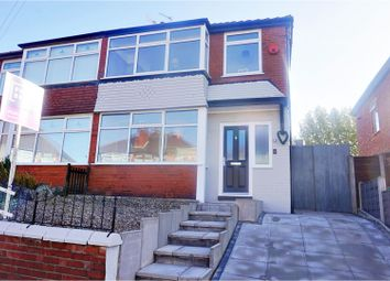 Thumbnail 3 bed semi-detached house for sale in Bourne Drive, Manchester