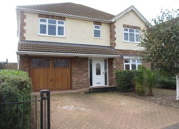 Thumbnail 4 bed detached house to rent in Waxwell Road, Hullbridge, Hockley