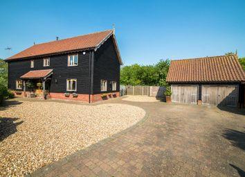 Thumbnail 4 bed barn conversion for sale in Abbotts Meadow, Redlingfield, Eye, Suffolk