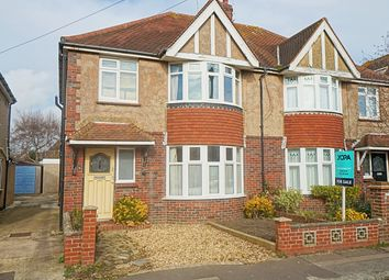 Thumbnail 3 bed semi-detached house for sale in Church Lane, Southwick, Brighton