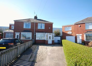 Thumbnail 2 bed semi-detached house to rent in Brunton Avenue, Fawdon, Newcastle Upon Tyne