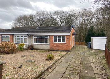 Thumbnail 2 bed semi-detached bungalow for sale in Lowell Drive, Parkhall, Stoke-On-Trent, Staffordshire