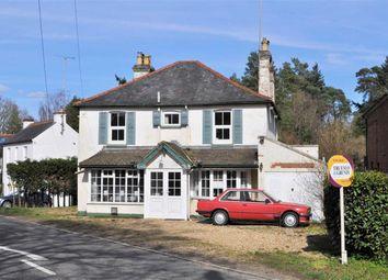 Thumbnail 4 bedroom detached house for sale in Frensham Road, Lower Bourne, Farnham