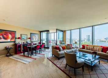 Thumbnail 3 bed flat for sale in The Tower, 1 St Georges Wharf, London