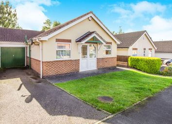 Thumbnail 2 bed detached bungalow for sale in Anthony Drive, Thurnby, Leicester