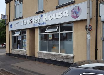 Thumbnail Restaurant/cafe to let in Lodge Road, West Bromwich