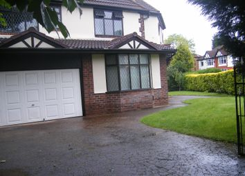 Thumbnail 1 bedroom detached house to rent in Manor Drive, Chorlton