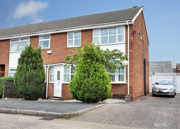 Thumbnail 3 bed semi-detached house for sale in Edendale, Sutton-On-Hull, Hull