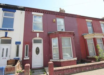 Thumbnail 4 bedroom terraced house for sale in Kenmare Road, Wavertree, Liverpool