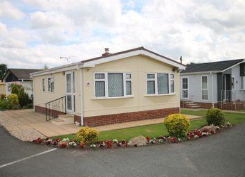 Thumbnail 2 bedroom mobile/park home for sale in Dengrove Park, Shalloak Road, Broad Oak, Canterbury