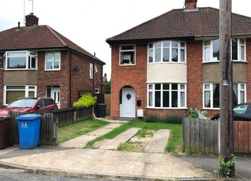 Thumbnail 3 bed semi-detached house to rent in Edward Close, Ipswich