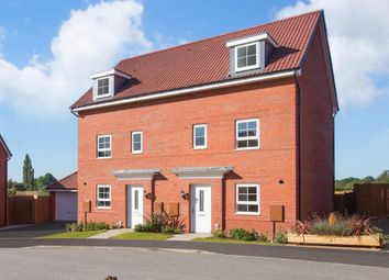 "Thumbnail 4 bed semi-detached house for sale in ""Woodcote"" at Fleece Lane, Nuneaton"