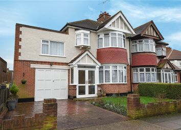 Thumbnail 4 bed semi-detached house for sale in Cornwall Road, Ruislip, Middlesex