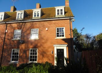 Thumbnail 4 bed town house to rent in Blacksmiths Way, Elmswell, Bury St. Edmunds