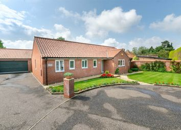 Thumbnail 3 bed detached bungalow for sale in The Paddocks, Mileham, King's Lynn