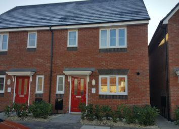 Thumbnail 3 bed semi-detached house to rent in Blockley Road, Hadley, Telford