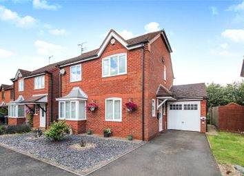 Thumbnail 4 bed detached house for sale in Hogarth Road, Leicester
