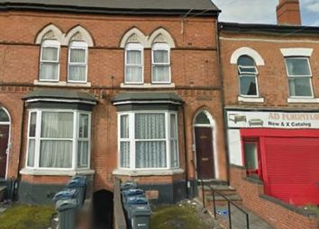 Thumbnail 2 bed terraced house for sale in Flats 1 & 2, 21 Crompton Road, Handsworth, Birmingham