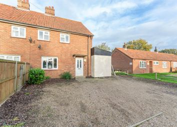Thumbnail 3 bedroom semi-detached house for sale in Church Lane, Hindolveston, Dereham