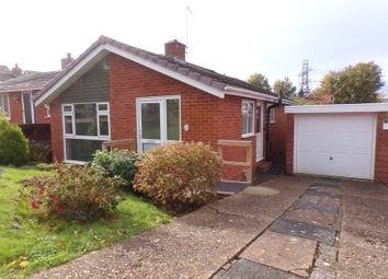 Thumbnail 2 bed semi-detached bungalow for sale in Partridge Road, Exmouth