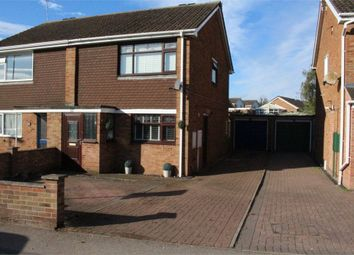 Thumbnail 3 bed semi-detached house for sale in Orchard Road, Broughton Astley, Leicester