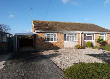 Thumbnail 2 bedroom semi-detached bungalow for sale in St. Wilfreds Close, Selsey, Chichester