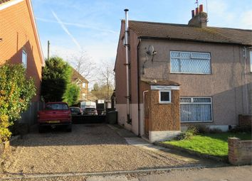 Thumbnail 2 bed semi-detached house for sale in Hawthorn Road, Sittingbourne, Kent